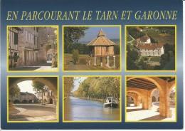 CPM - En Parcourant Le Tarn Et Garonne ( Montpezat, Pigeonnier, Canal Du Midi Etc...) - Montpezat De Quercy
