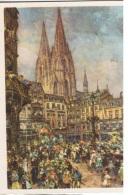 COST-L7 -ALLEMAGNE 2 Entiers Postaux Illustrés Du Carnaval De Cologne 1939 Défilé, Cathédrale Et Coiffe - Carnaval