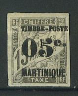 """VEND BEAU TIMBRE DE MARTINIQUE N°20 , CASSURE DANS LE """"5"""" !!!! - Martinique (1886-1947)"""