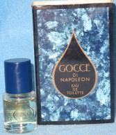 A703  GOCCE DI NAPOLEON MORRIS BOTTIGLINE PROFUMO MINIATURE DE PARFUM BOTTLES PERFUME MINIATURES MEN´S FEMMES HOMMES - Modern Miniatures (from 1961)