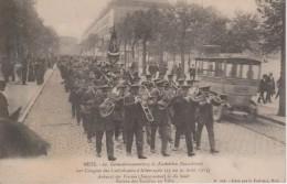 57-METZ- 60° CONGRES DES CATHOLIQUES D'ALLEMAGNE-TRES BELLE CARTE - Other Municipalities