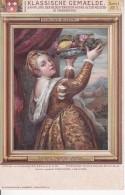 AK Tizian - Tizians Tochter Lavinia - Berliner Museum (24095) - Paintings