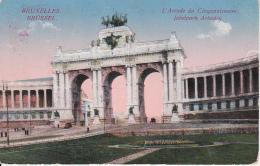 AK Bruxelles - L'Arcade De Cinquantenaire - Feldpost - Kriegslazarett 4 Brüssel - 1915 (24098) - Monuments