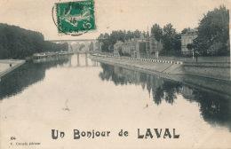 """LAVAL - """"Un Bonjour De LAVAL """" - Laval"""