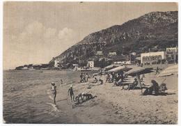 San Felice . Circeo - Spiaggia Con Veduta Dell'Albergo Guattari - Latina - H2965 - Latina
