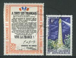 VEND BEAUX TIMBRES DE NOUVELLE-CALEDONIE N°326 + 327 , XX !!!! - Neukaledonien