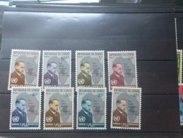 465/72 Neuf - République Du Congo (1960-64)
