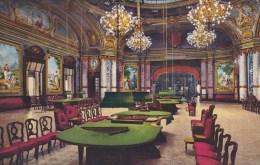 MONTE CARLO - INTERIOR OF CASINO, SCHMITT HALL - Monte-Carlo