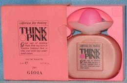 A697  THINK PINK PER GIOIA BOTTIGLINE PROFUMO MINIATURE DE PARFUM BOTTLES PERFUME MINIATURES MEN´S FEMMES HOMMES - Modern Miniatures (from 1961)