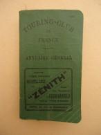 Annuaire Général - Touring-Club De France - 1923 - Livres, BD, Revues