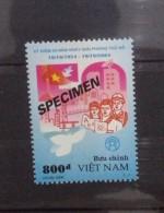 Vietnam Viet Nam MNH SPECIMEN Stamp 2004 : 50th Anniversary Of Liberation Of Hanoi (Ms929) - Vietnam