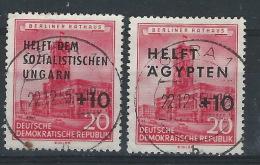 BB-/-500-. N° 282/83,  BELLE Obl.   , Cote 1.50 € ,  Liquidation - DDR