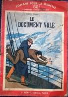 """Romans Pour La Jeunesse N° 131 : """"Le Document Volé"""". F. Rouff Editeur. 1935 - Livres, BD, Revues"""