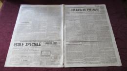 TOULOUSE - LE LOUP-GAROU Ou LA MALEBÊTE DANS LES BOIS DE LA COMMUNE DE CORNEBARRIEU - 1845. - Newspapers