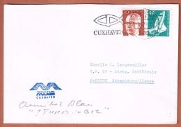 Flamme Cuxhaven 4.9.1975  Entête: Wilhelm Maass - [7] Federal Republic