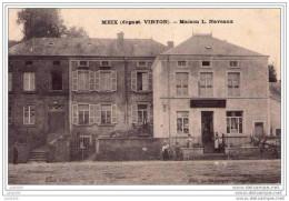 Prix Revu . MEIX - DEVANT - VIRTON ..--  Maison L. NAVEAUX . 1909 Vers PARIS . Voir Verso . - Meix-devant-Virton