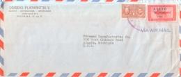 Panama - Correo Aero - Overprint On Swordfish Stamp - Panama