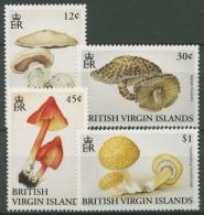 Britische Jungferninseln 1992 Pilze 755/58 Postfrisch - British Virgin Islands