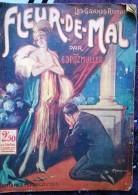 """Les Grands Romans  """"Fleur De Mal"""" Par G. Spitzmuller. Editions J. Ferenczi 1927 - 1901-1940"""