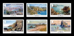 Guernsey 2015 Mih. 1527/32 SEPAC. Culture. Guernsey In Paintings MNH ** - Guernsey