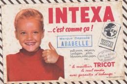 455 BUVARD INTEXA LE MEILLEUR TRICOT VILLE DE MADRID BAYONNE Rousseurs - Kleidung & Textil
