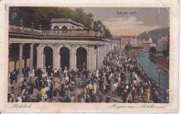 AK Karlsbad - Morgen Am Mühlbrunn - 1929 (24101) - Sudeten