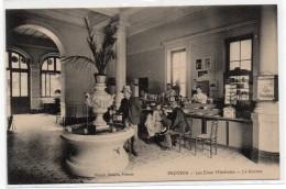 CPA - PROVINS - LES EAUX MINERALES - LA SOURCE - Animée - N/b - Vers 1910 - - Provins