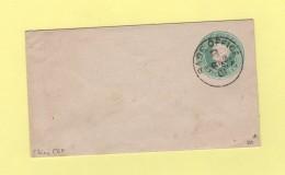 Chine - Entier Postal CEF - Base Office B - 20 Nov 1901 - Chine