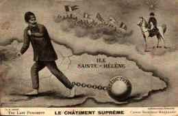 Patriotique 104, Guillaume Caricature Le Châtiment Suprême Napoléon - Patriotic
