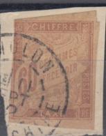 #103# COLONIES GENERALES TAXE N° 24 Oblitéré Cholon (Cochinchine) - Portomarken