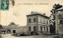 77 Env. De SAINT-FIACRE -Entrée De VILLEMAREUIL - France