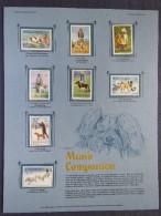 Romania 1982 Dogs - Mint Set On Panel - Scott 3060/3067 = 5 $ - 1948-.... Republics