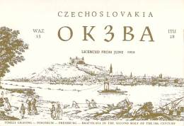 Amateur Radio QSL Card - OK3BA - Bratislava, Czechoslovakia - 1977 - 2 Scans - Radio Amateur