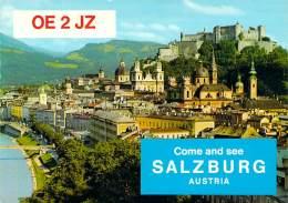 Amateur Radio QSL Card - OE2JZ - Salzburg, Austria - 1977 - 2 Scans - Radio Amateur