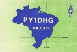 Amateur Radio QSL Card - PY1DHG - Rio De Janeiro, Brazil - 1978 - 2 Scans - Radio Amateur