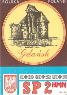 Amateur Radio QSL Card - SP2HMN - Warsaw, Poland - 1977 - 2 Scans - Radio Amateur