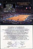 RUSSIA - 2003 - Mi BL. 52 - WINNERS OF THE DAVIS CUP - MNH ** - Blocks & Sheetlets & Panes