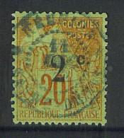 """VEND BEAU TIMBRE DE LA REUNION N°45 , CACHET """"SAINT-DENIS"""" !!!! - Réunion (1852-1975)"""