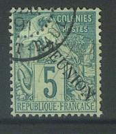 """VEND BEAU TIMBRE DE LA REUNION N°20 , CACHET """"SAINT-PAUL"""" !!!! - Réunion (1852-1975)"""
