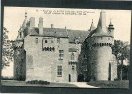 Lot De 3 CPA - Environs De SAINT POL DE LEON - SIBIRIL - Château De Kérouzéré - Frankreich