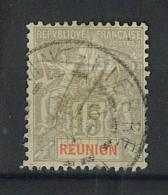 """VEND BEAU TIMBRE DE LA REUNION N°48 , CACHET """"SAINT-PIERRE"""" !!!! - Réunion (1852-1975)"""