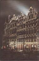 Bruxelles - Grand-place (façades Ouest) - Bruxelles La Nuit