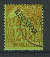 VEND BEAU TIMBRE DE LA REUNION N°23 !!!! - Réunion (1852-1975)