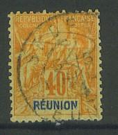 VEND BEAU TIMBRE DE LA REUNION N°41 !!!! - Réunion (1852-1975)