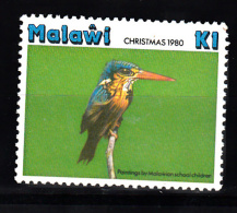 Malawi 1980 Mi Nr 355 Ogel, Bird, Ijsvogel, Kingfisher ; Postfris - Malawi (1964-...)