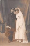¤¤  -  Carte-Photo Non Situé  -  Couple De Mariés  -  Marin   -  ¤¤ - Postales