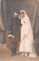 ¤¤  -  Carte-Photo Non Situé  -  Couple De Mariés  -  Marin   -  ¤¤ - Ansichtskarten