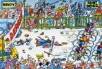 """CYCLISME  """" TOUR DE FRANCE 1984  / BANANIA  """" ETAPE N° 1  """" ILLUSTREE PAR GUERRIER  CPSM / CPM  10 X 15   TTBE - Otros Ilustradores"""