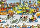 """CYCLISME  """" TOUR DE FRANCE 1984  / BANANIA  """" ETAPE N° 6  """" ILLUSTREE PAR GUERRIER  CPSM / CPM  10 X 15   TTBE - Otros Ilustradores"""
