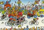 """CYCLISME  """" TOUR DE FRANCE 1984  / BANANIA  """" ETAPE N° 10  """" ILLUSTREE PAR GUERRIER  CPSM / CPM  10 X 15   TTBE - Otros Ilustradores"""